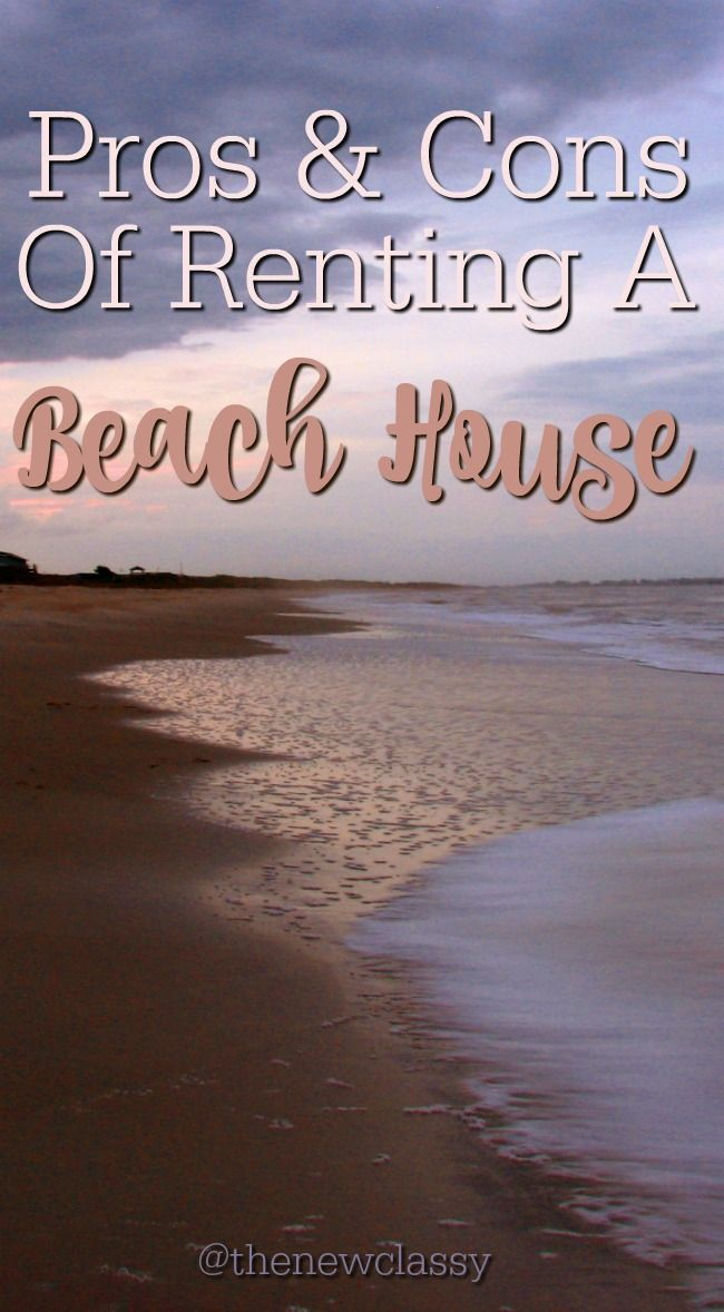 Have you ever rented a beach house or are you considering renting one soon? Check out my list of Pros & Cons Of Renting A Beach House and feel free to add anything that I may have missed. :)  #travel #vacation #beachhouse #travelblog