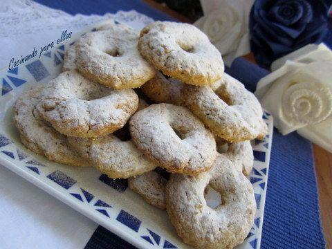 Cocinando para ellos roscos de nueces y almendra - Cocinando para ellos ...