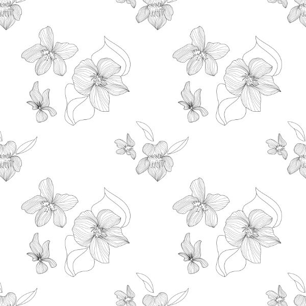 Line Drawing Violet : Best images about violets to mum on pinterest hand