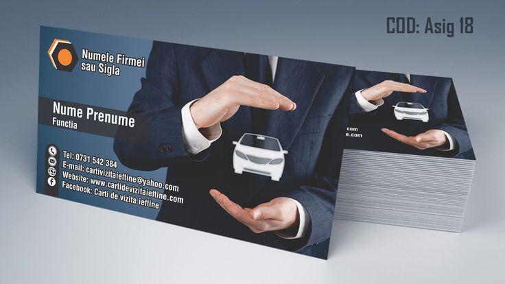 carti de vizita asigurari, rca, insurance business cards template
