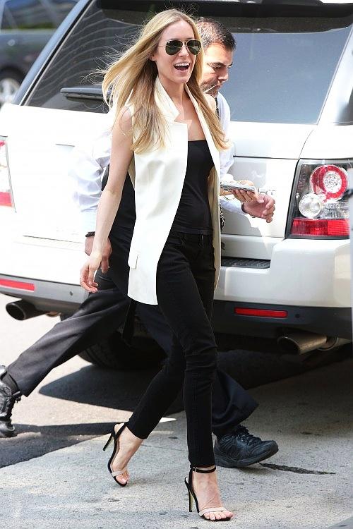 Kristin Cavallari - white vest as an alternative to a lab coat