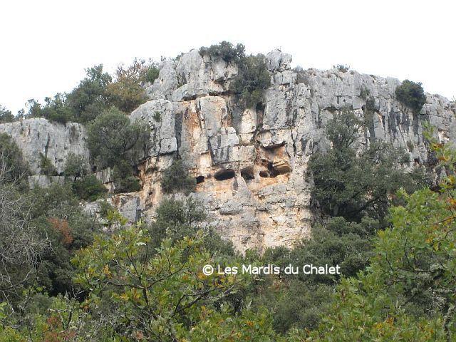 La Grotte St Michel  Les basses gorges du Verdon, Quinson, trace GPS Quinson