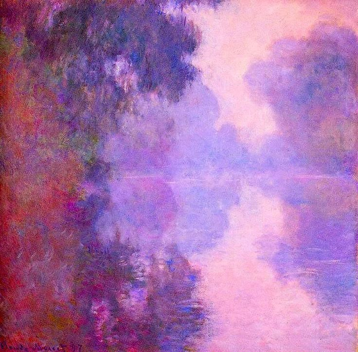 The Seine at Giverny, Morning Mists by Claude Monet