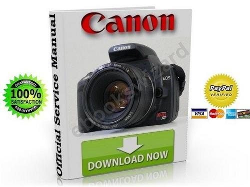 CANON EOS 350D / KISS DIGITAL N / REBEL XT SERVICE & REPAIR MANUAL
