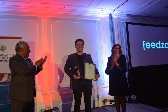 Portuguesa Feedzai recebe prémio da Câmara de Comércio Americana e Portugal
