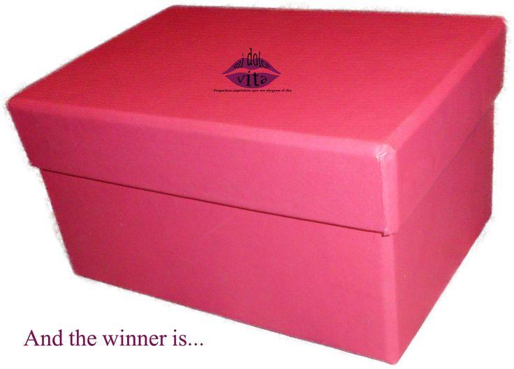 Resolución sorteo: PINK BOX