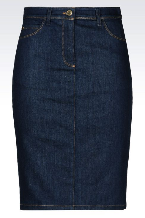 GONNA IN DENIM: Gonne jeans Donna by Armani - 1