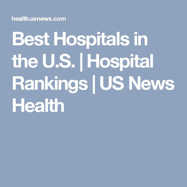 Best Hospitals in the U.S. | Hospital Rankings | US News Health