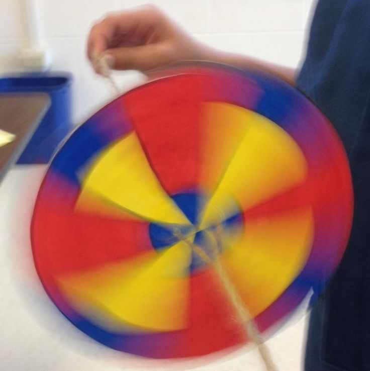 how to make a colour wheel spinner