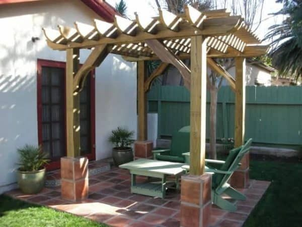10x15 Pergola Kits Big Kahuna 10x15 Wood Pergola Kit Pergola Kits By Pergola Depot Pergola Designs Pergola Backyard Pergola