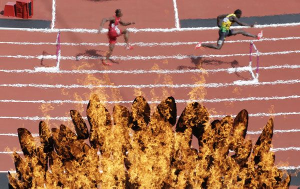 Shooting through the Olympic flame | Photographers Blog