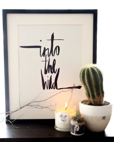 Into the Wild A3. #wildeasher
