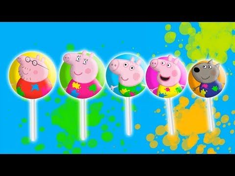 #Peppa Pig #Paint #Lollipop #Finger Family | #Nursery Rhymes Lyrics - RoRo Fun Channel Youtube  #Masha   #bear   #Peppa   #Peppapig   #Cry   #GardenKids   #PJ  Masks  #Catboy   #Gekko   #Owlette   #Lollipops  #MashaAndTheBear  Make sure you SUBSCRIBE Now For More Videos Updates:  https://goo.gl/tqfFEb Have Fun with made  by RoRo Fun Chanel. More    HOT CLIP: Masha And The Bear with PJ Masks Catboy Gekko Owlette Cries When Given An Injection  https://www.youtube.com/watch?v=KVEK6Qtqo9M Masha…