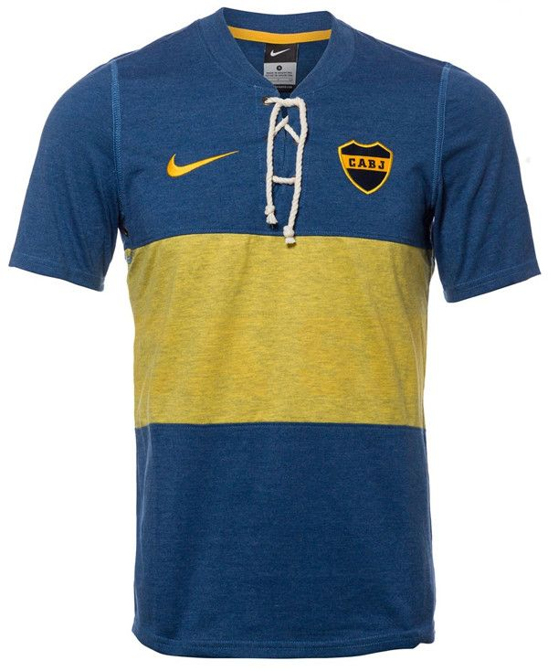 Boca Juniors 2014 Special Edition '100 Years' Retro Football Shirt - front