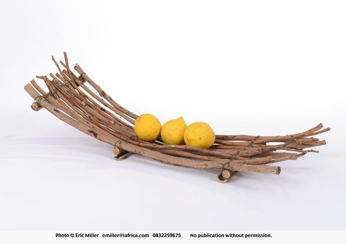Fruit server - twigs - Zamani Art & Design