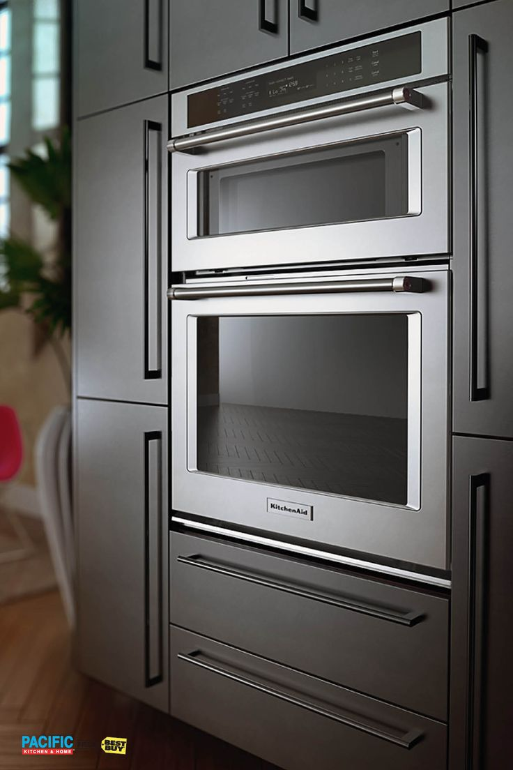 17 best ideas about wall ovens on pinterest kitchen oven for Double oven and microwave cabinet