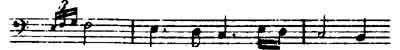 The Unmuth (Displeasure) Leitmotive from Wagner's Die Walküre.
