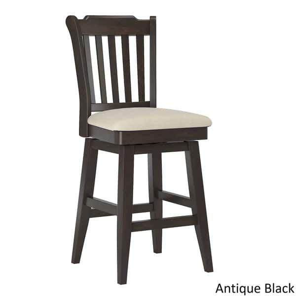 Brilliant Eleanor Slat Back Counter Height Wood Swivel Chair By Spiritservingveterans Wood Chair Design Ideas Spiritservingveteransorg