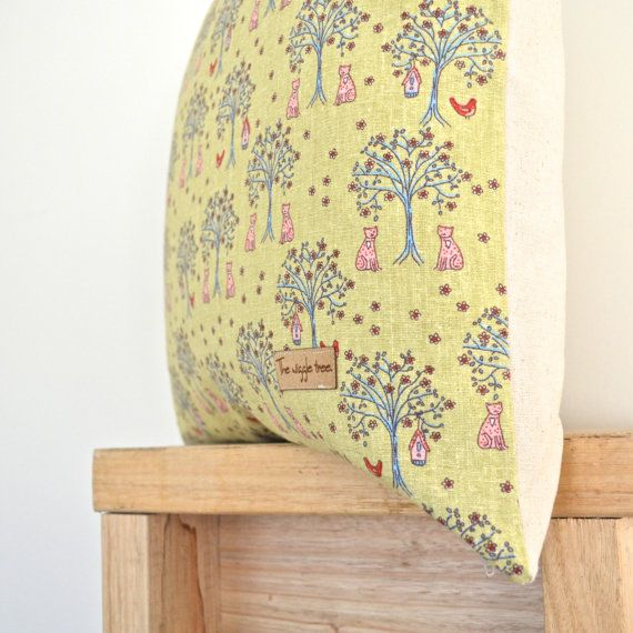 Once Upon a Tree Children's Cushion Cover by TheWiggleTree