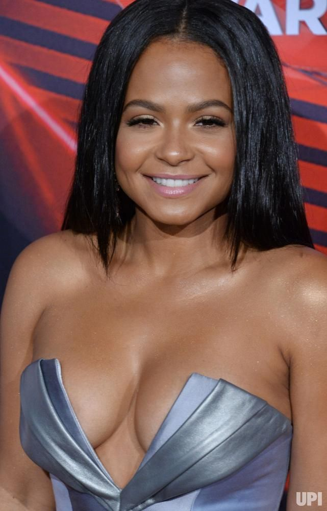 TV personality Christina Milian arrives for the iHeartRadio Music Awards at The Forum in Inglewood, California on March 5, 2017. The show…