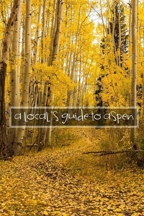 A local's guide to Aspen, Colorado