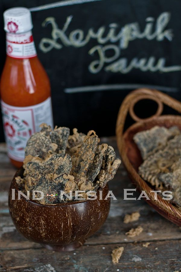 Keripik Paru (Indonesian Beef Lung Crackers) | Indonesia Eats
