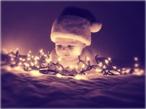 Christmas baby by vny