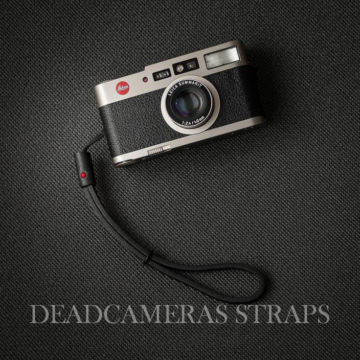 Deadcameras Nano Wrist Strap & Leica CM