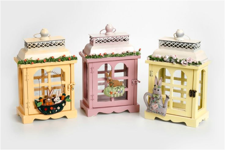 #easter #boxes #lanterns #colors
