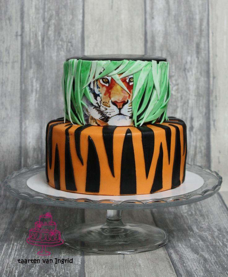 Taart tijger / tiger cake