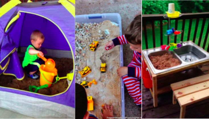 12 Sandpits you can make yourself! - Creatistic