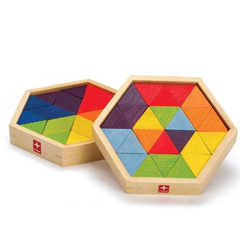Geo-form S-Mixed Shape Puzzles at Hape Toys