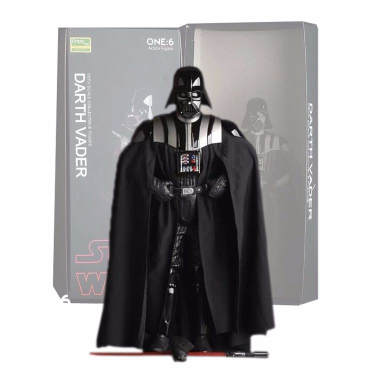 Crazy Toys Star Wars Figure Darth Vader PVC Action Figures Collectible Model Toy 26cm Free Shipping. Click visit to buy