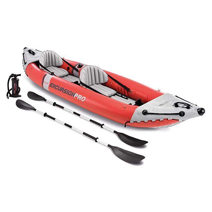Intex Excursion Pro Kayak Professional Series Inflatable Fishing
