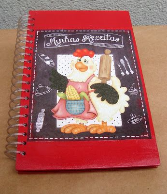 Atelier de Arte Julainne: caderno de receita