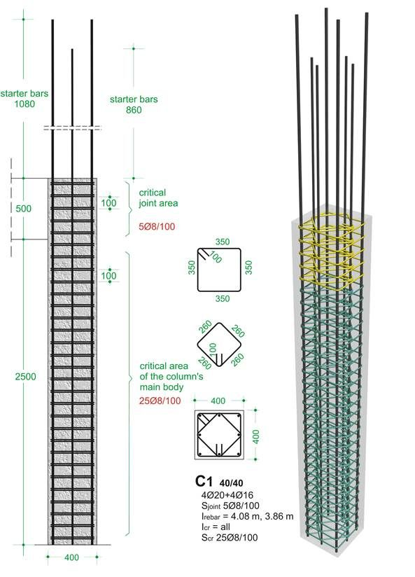 BuildingHow > Products > Books > Volume A > The reinforcement I > Columns > Typical cross-sections