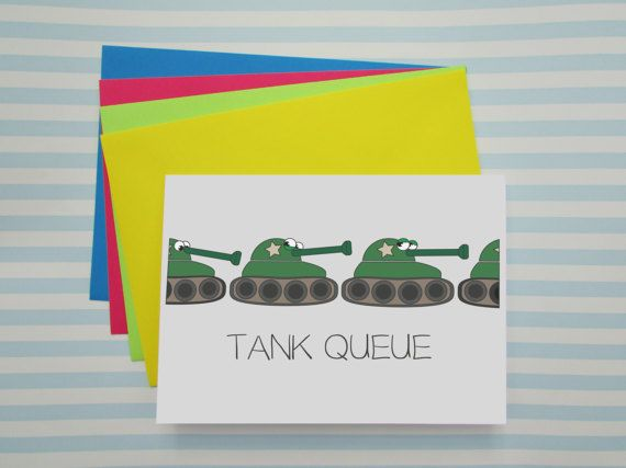 Fun Thank You Card  Puns  Quirky Way to Say Thank You  by cushobi