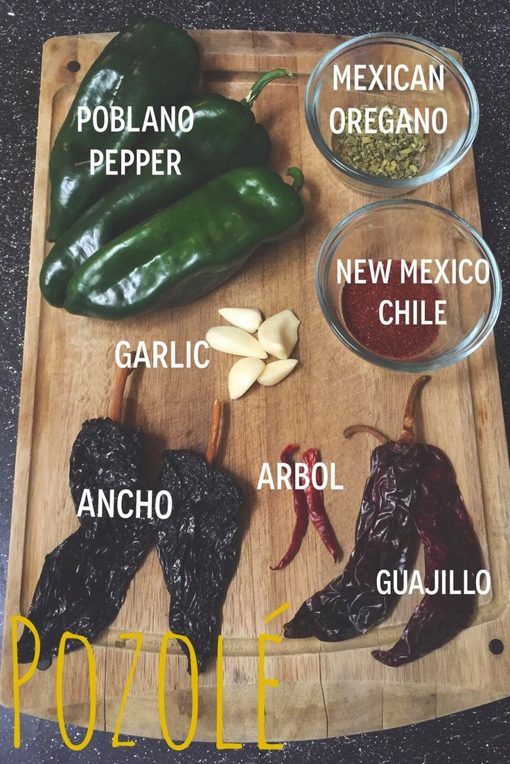 Traditional Mexican Chicken Pozole Recipe   via elminaloves.blogspot.com