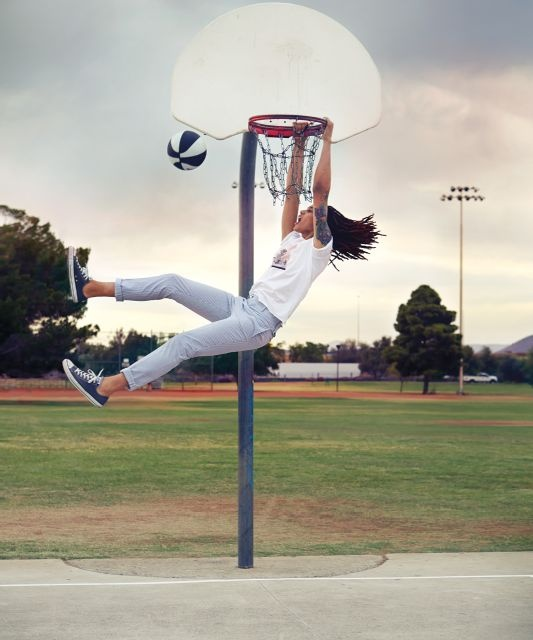 Brittney Griner: I want to spend every day being this awesome.