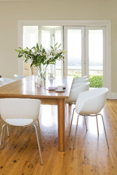 Struggling to decide whether to go for wood or white bi-fold doors?
