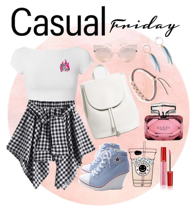 """""""simple"""" by sasya15 on Polyvore featuring Helmut Lang, Everlane, Fendi, Giorgio Armani, Monica Vinader and Gucci"""