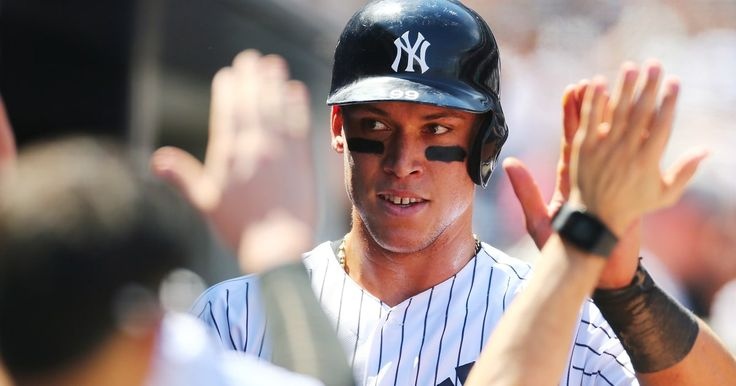 New York Yankees Rookie Sensation Aaron Judge Smashes Record Home Run  http://www.rollingstone.com/sports/yankees-rookie-aaron-judge-breaks-home-run-records-w487399?utm_campaign=crowdfire&utm_content=crowdfire&utm_medium=social&utm_source=pinterest
