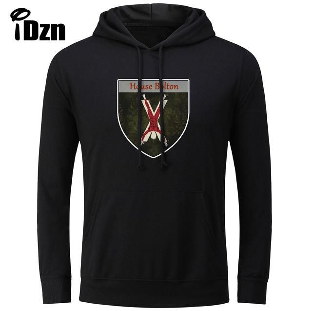 Print Hoodies Game of Thrones House Bolton of the Dreadfort Our Blades are Sharp Sweatshirts Unisex Tops S-3XL
