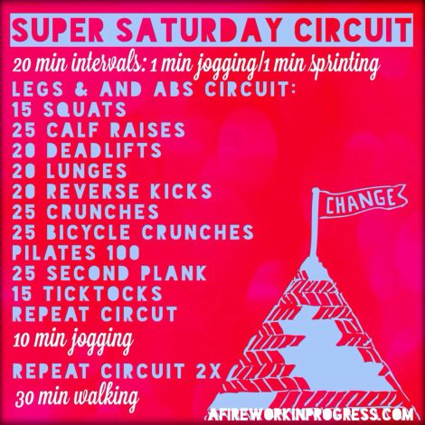 A lower body circuit training workout for legs and abs with HIIT & cardo.