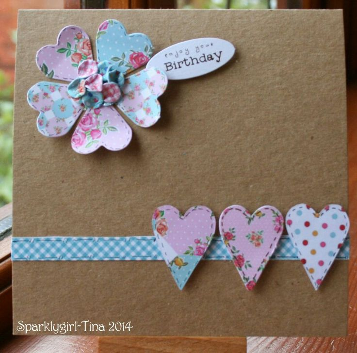 Craftwork Cards Kitsch collection. Created by Tina Boyden.