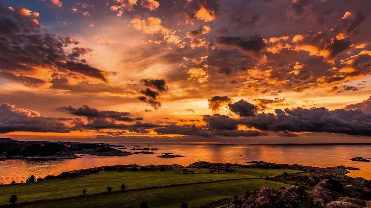 Marvellous Orange sunset [1920×1080] #Marvellous Orange sunset [19201080]  #Hdwallpaper #wallpaper #image