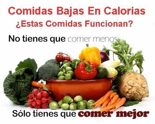 Comidas bajas en calorias estas comidas funcionan - Comidas sanas y bajas en calorias ...