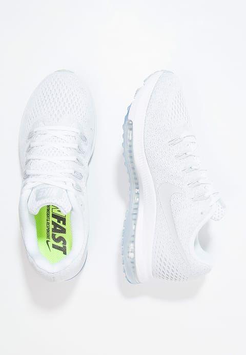 Nike Performance ZOOM ALL OUT - Juoksukenkä/neutraalit - white/pure platinum - Zalando.fi