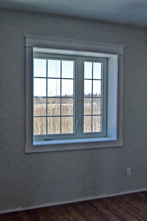 Modern window trim styles the image kid for Modern window styles