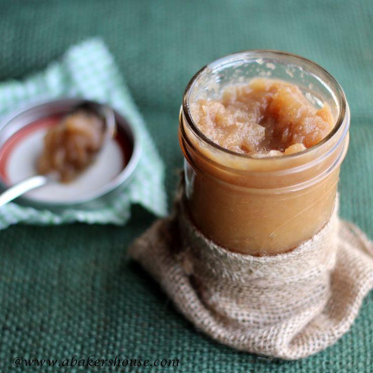 Ginger Pear Jam:  with brown sugar...no pectin